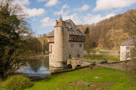 Castle of Crupet in Belgium Stock Photo