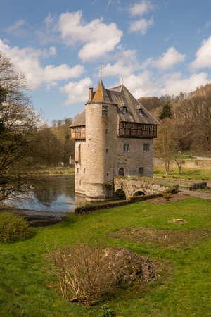 Castle of Crupet in Belgium Editorial