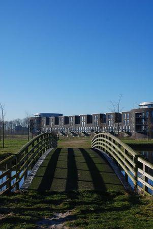 De moderne kastelen van Haverleij (Nederland) 11  Stockfoto - 2536824