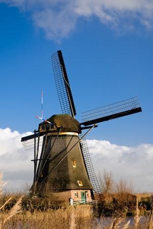 Ancient mills of Kinderdijk