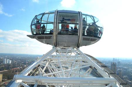 london eye: London Eye cabin Editorial