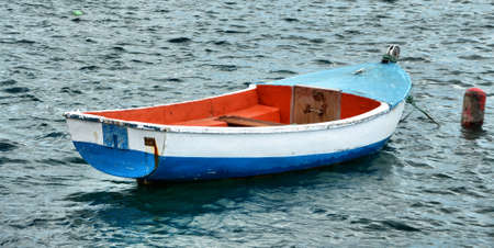 lanzarote: fisher boat in Lanzarote Stock Photo