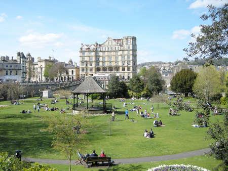 uk: Park in Bath UK