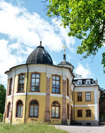 vicinity: Belvedere Castle in Thuringia