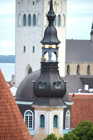 tallinn: Tallinn Detail of Church