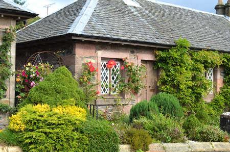 loch lomond: House on Loch Lomond