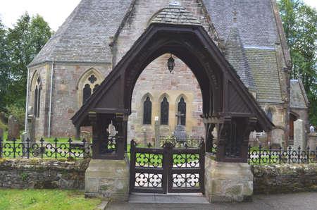 loch lomond: Church on Loch Lomond Editorial