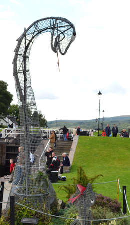 ness: Fort Augustus on Loch Ness