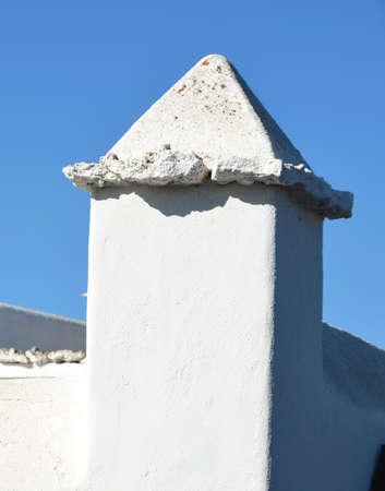 lanzarote: Buildings in Lanzarote Stock Photo