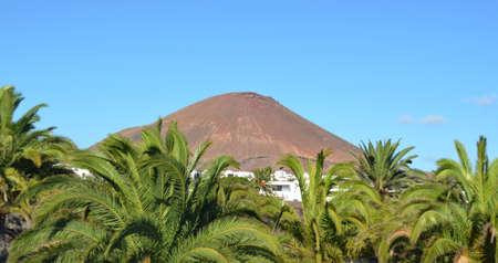 lanzarote: Mountain on Lanzarote Stock Photo