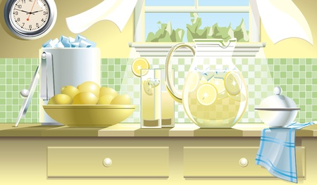 limonade: Limonade Stock Illustratie