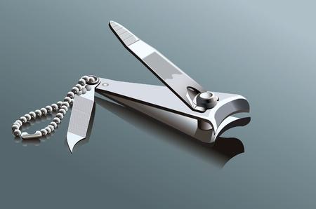 爪切り  イラスト・ベクター素材