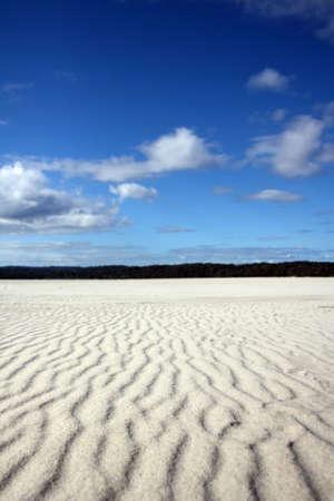 landlocked: Large Landlocked Sand Dune  Stock Photo