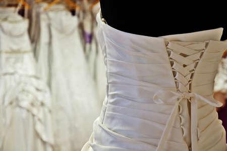 bead embroidery:  WEDDING DRESS