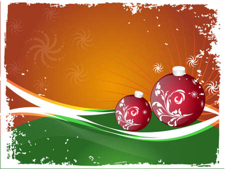 A decorative winter style, abstract Christmas background. Many elements contributing to its artistic view. Enjoy the ornaments. These are vectors! photo