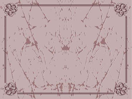 Decorated border frame, vector wallpaper photo