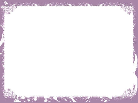 Floral purple border background frame, wallpaper photo