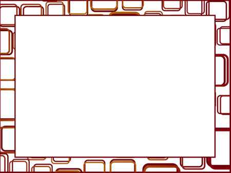 squire: This is vector illustration of squire pettern frame and background Stock Photo
