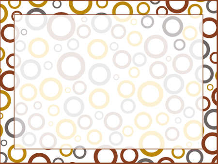 attern: This is vector illutration of nice circle attern background Stock Photo