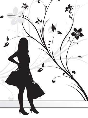this is vector illustration dancing silhouette enjoy the party illustration