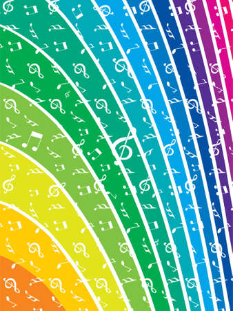 rainbow slide: Rainbow abstract background in modern colors with room to add your own text Stock Photo
