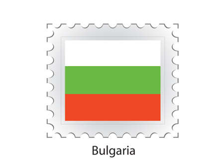 ged: This is Vector illustration of stamp flag