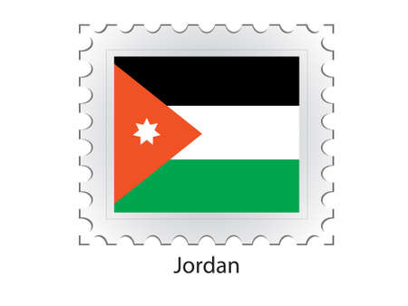 postal stamp: This is Vector illustration of stamp flag