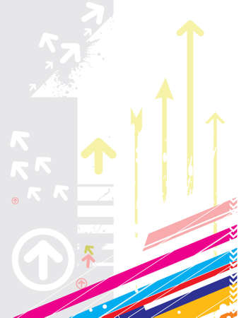 vector illustration of abstract background with arrows this is editable image illustration