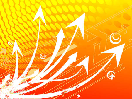this is editable vector illustration of abstract arrows background illustration