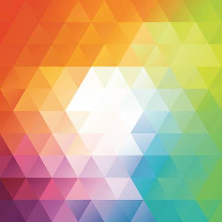 moderne geometrische kleurrijke achtergrond mozaïeken vector illustratie. Stockfoto