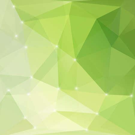 Modern green abstract light background. Illustration