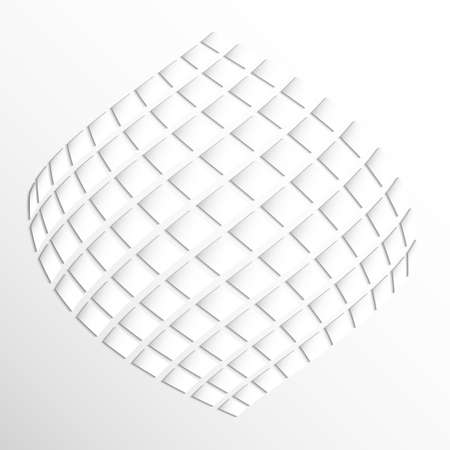 Modern geometric texture in White backgrounds.