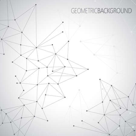 Geometric gray background for your design and your text.