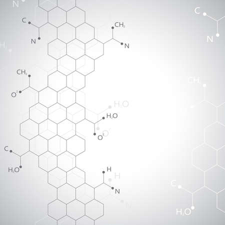 encoded: Dna molecule on gray background.