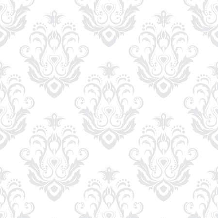 バロック様式のスタイルでシームレスなテクスチャ壁紙。背景やページの塗りつぶし web デザインに使用できます。  イラスト・ベクター素材