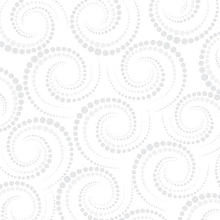 Abstract geometric pattern dots around . Repeating background vector illustration. Vector