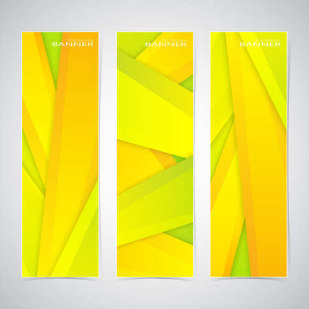 Collection of the 3 colorful web banners . Can be used for your design .Vector illustration. Vector