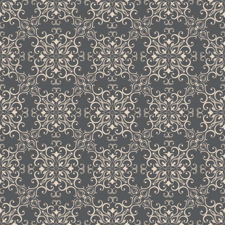 western pattern: Floral pattern wallpapers in the style of Baroque . Can be used for backgrounds and page fill web design.