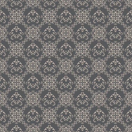 old wallpaper: Floral pattern wallpapers in the style of Baroque .