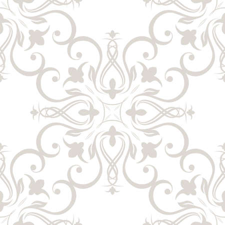 Seamless wallpapers in the style of Baroque . Can be used for backgrounds and page fill web design. Vector illustration.