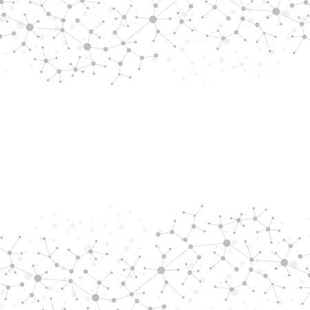 現代構造分子 DNA。原子。医学、科学、技術、化学分子とコミュニケーションの背景。医療の科学的背景。
