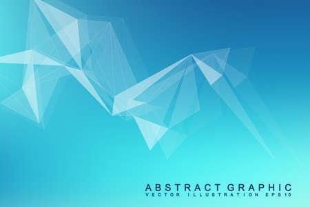 Futuristic abstract pattern design. Illustration
