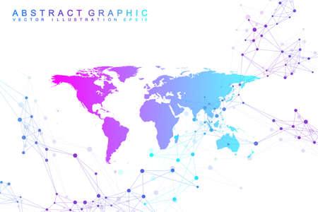 World map icon.