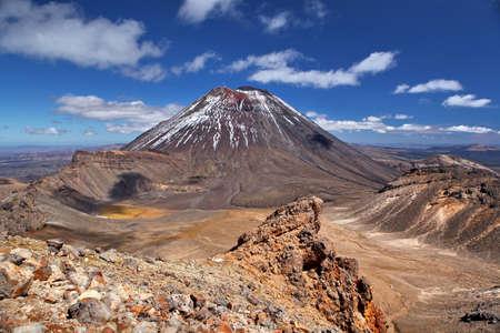 mt: volcano Mt Ngauruhoe