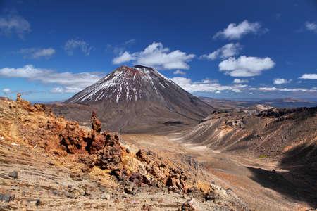 volcano Mt Ngauruhoe photo
