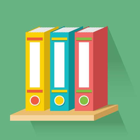 Archive, folder icon, shelf
