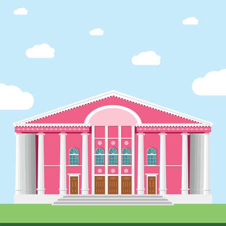 オペラ劇場。モンゴル国立オペラ ・ バレエ劇場。