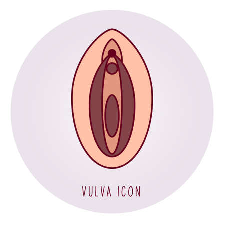 Symbol of feminism or woman's health. - Vector