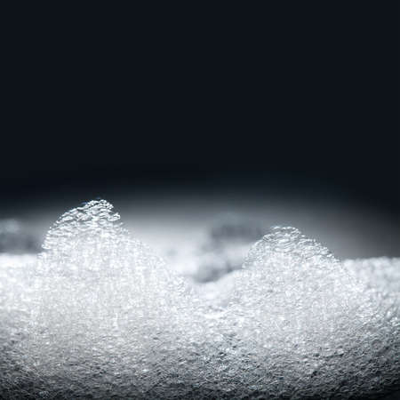 shampoo: Soap foam, suds, shower. soft focus. macro