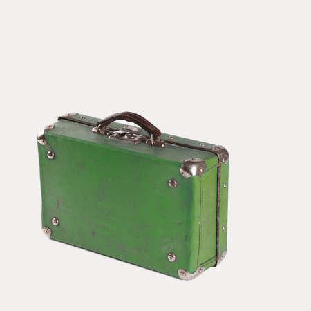 duffel: green Voyage suitcase